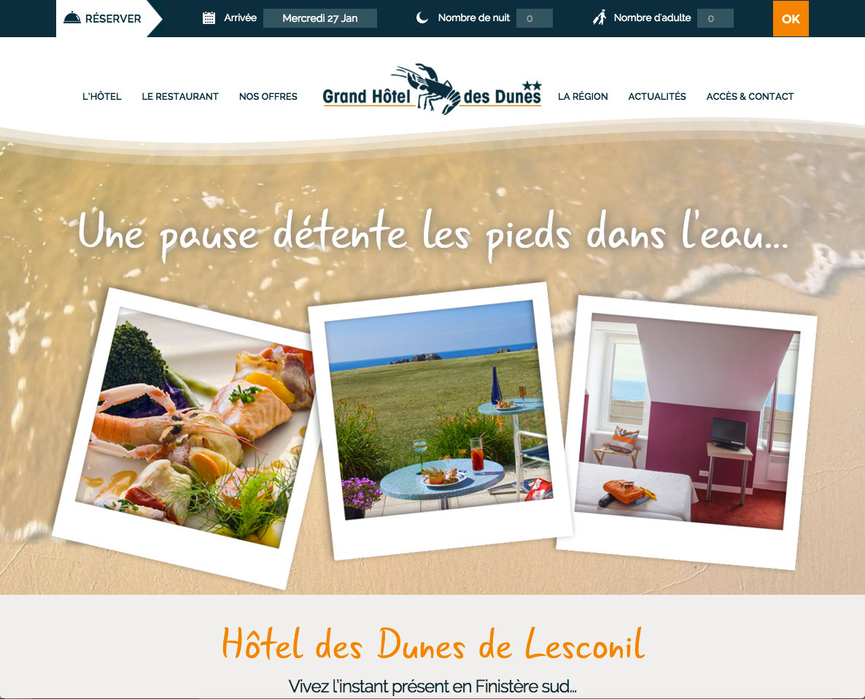 Grand Hôtel des Dunes – Lesconil